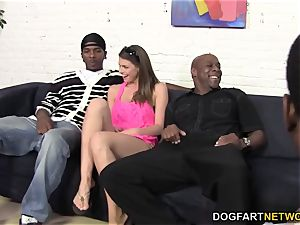 bodacious Brooklyn pursue well-prepped for all those black boners
