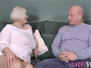 boobjob brit grandmother