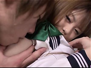 Noriko Kago student porn in asian home flick