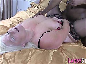 Lacey Starr Gets ravaged hard by a ebony boy