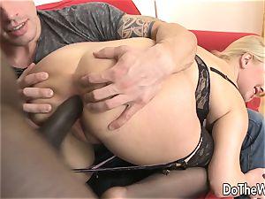 molten blondie wifey takes bbc in her booty