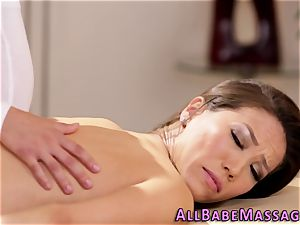 buxomy masseuse fingered