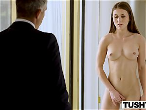 TUSHY assistant Makes Her manager Work For anal invasion