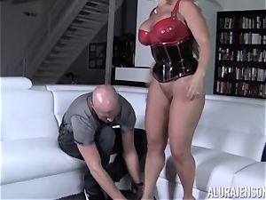 ultra-kinky Alura Jenson shows her husband a new side of her