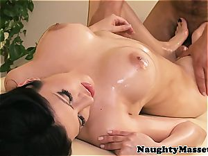 latin hotty rubbed all over before doggy style nailing