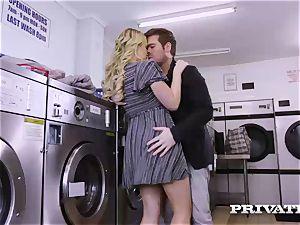 Private.com - Mia Malkova gets drilled in the laundry