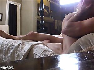 sonny filmed as his mommy and daddy have messy fuck-fest