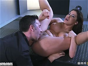 mind-blowing mature whore Nicole Aniston with giant bra-stuffers gets buttfucked and dumping