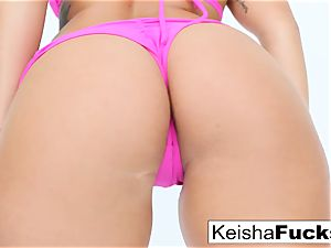 red-hot sex industry star Keisha gets her humid cooter fucked