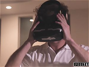 pure TABOO weirdo Busdriver Clones students into VR