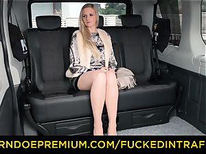 screwed IN TRAFFIC - blonde queen torn up deep