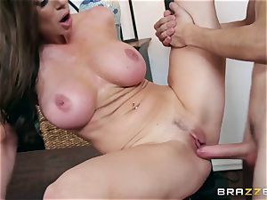 lustful large titty milf Kendra passion prefers her daughter's youthful boyfriends