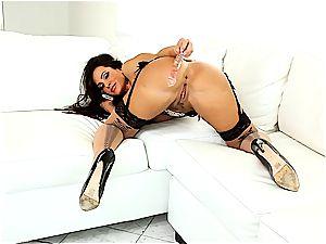 marvelous Lisa Ann always looks excellent when she masturbates