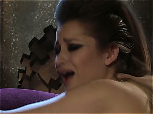 Dani Daniels implementing cogs and peckers in her steampung wish
