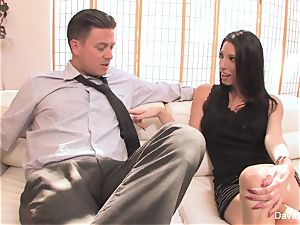 audition sofa with Bradley with a creampie