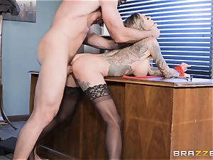 Karma Rx takes labia nailed in the office