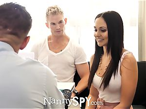 NannySpy father romps Ariana Marie after caught with sonnie