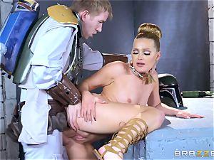Abby Cross rammed in her moist vag