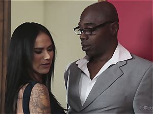 insatiable wife Nadia Styles gets multiracial ravaging