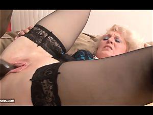 ebony hard-on craving for grandma in xxx multiracial