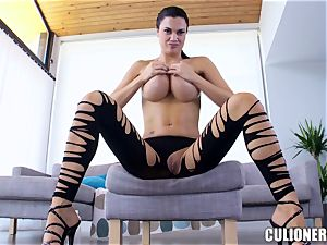 plump titted dark-haired groaning for manmeat