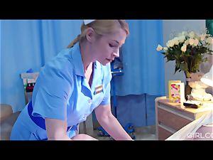 GIRLCORE lezzie Nurses Give teen Patient Vaginal examination