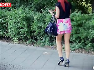 LETSDOEIT - German cutie Tricked and pummeled For Money