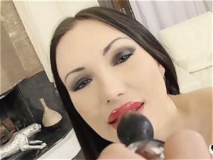 HER limit - Russian Sasha Rose gets rump poked hard-core