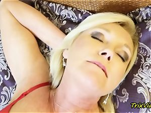 mummy getting off and Toe deepthroating ejaculations with Ms Paris