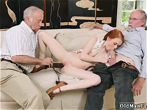 internal cumshot older thick granny and 2 boy tear up young nymph Online hook-up