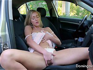 Larina, Highway superslut masturbate
