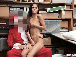 Katya Rodriguez rails on security santas spear