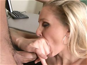 Julia Ann is a hardcore mummy who wants to put her gash on a rigid manmeat