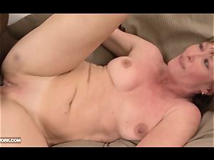 grannie likes to get her cootchie nailed by ebony man meat