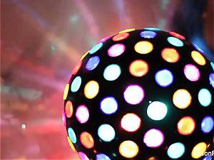 killer yam-sized breasted disco ball honey