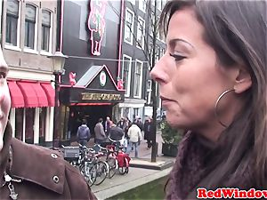 Doggystyled dutch escort welcomes tourist