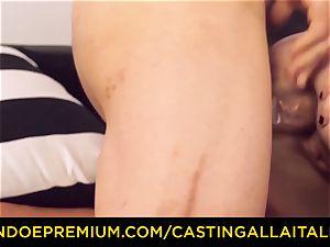 CASTNG ALLA ITALIANA - blondie vixen rough double penetration hump