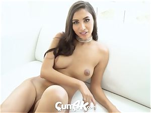 CUM4K mexican crammed UP with numerous trickling creampies
