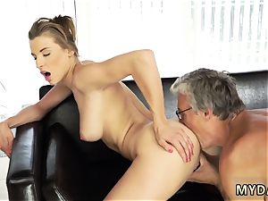 buddy s step sista deep-throats and ravages comrade s bro during dinner fuck-a-thon with her