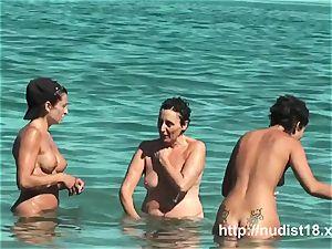 nude beach voyeur film fantastic arse ladies nudist beach