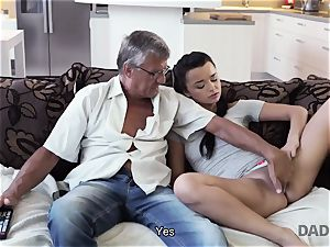 DADDY4K. daddy takes part in spontaneous fuck-a-thon with cutie Erica ebony