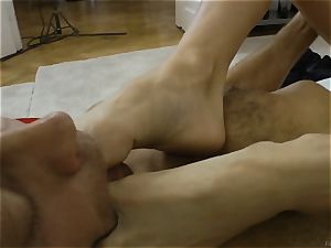 Doris Ivy banged in her ass-hole