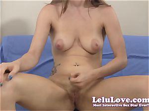She gives YOU highly detailed masturbation instruction