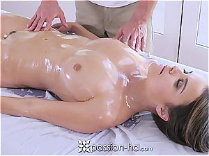 Passion-HD - Dillion Harper humid massage with facial